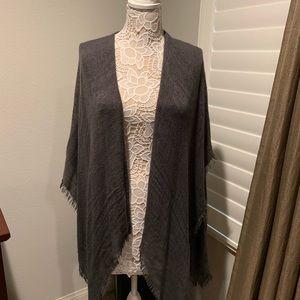 Echo lightweight gray shawl from Nordstrom